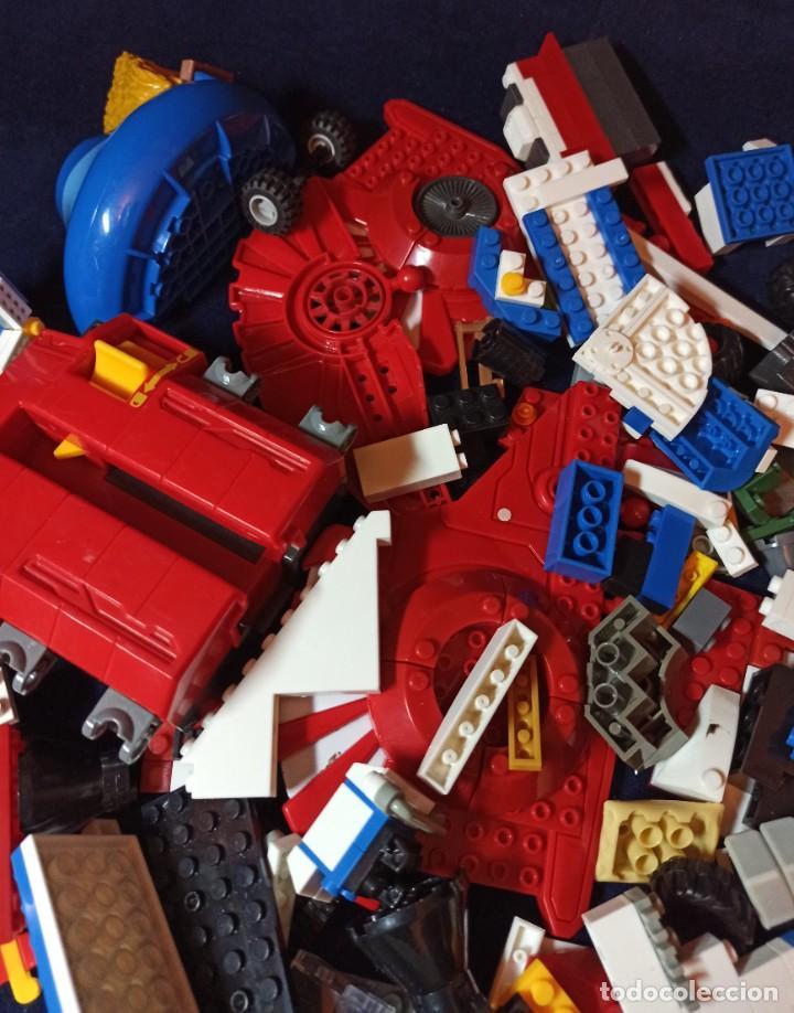 Juegos construcción - Lego: Lote de Piezas de construccion Mega Blocks y similar.1.473 gramos - Foto 7 - 261612900