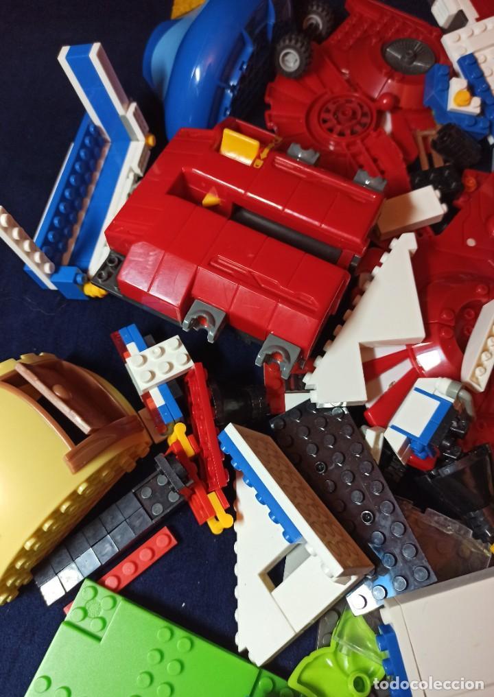Juegos construcción - Lego: Lote de Piezas de construccion Mega Blocks y similar.1.473 gramos - Foto 8 - 261612900