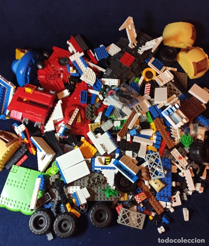 Juegos construcción - Lego: Lote de Piezas de construccion Mega Blocks y similar.1.473 gramos - Foto 9 - 261612900