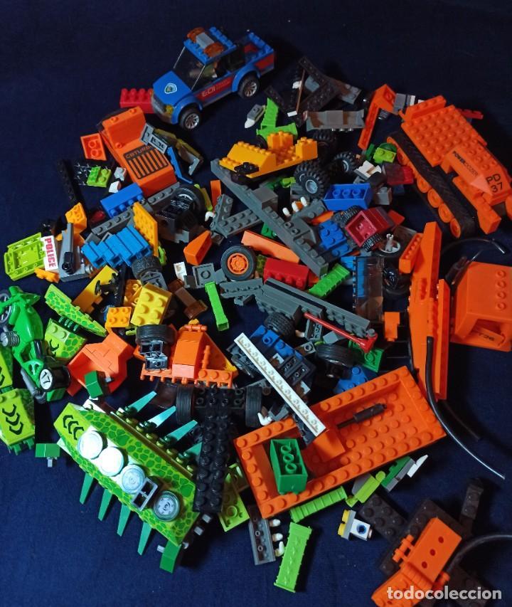 LOTE DE PIEZAS DE CONSTRUCCION MEGA BLOCKS Y SIMILAR.804 GRAMOS (Juguetes - Construcción - Lego)