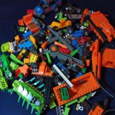 Juegos construcción - Lego: LOTE DE PIEZAS DE CONSTRUCCION MEGA BLOCKS Y SIMILAR.804 GRAMOS. Lote 261613035