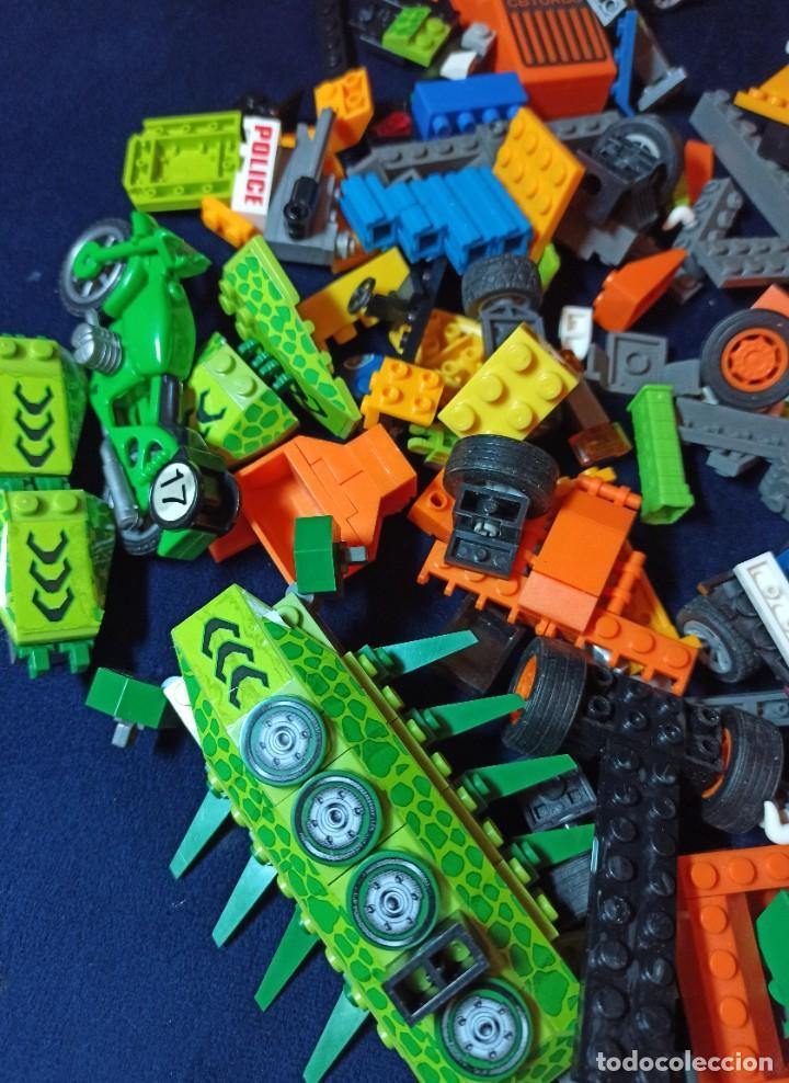Juegos construcción - Lego: Lote de Piezas de construccion Mega Blocks y similar.804 gramos - Foto 2 - 261613035