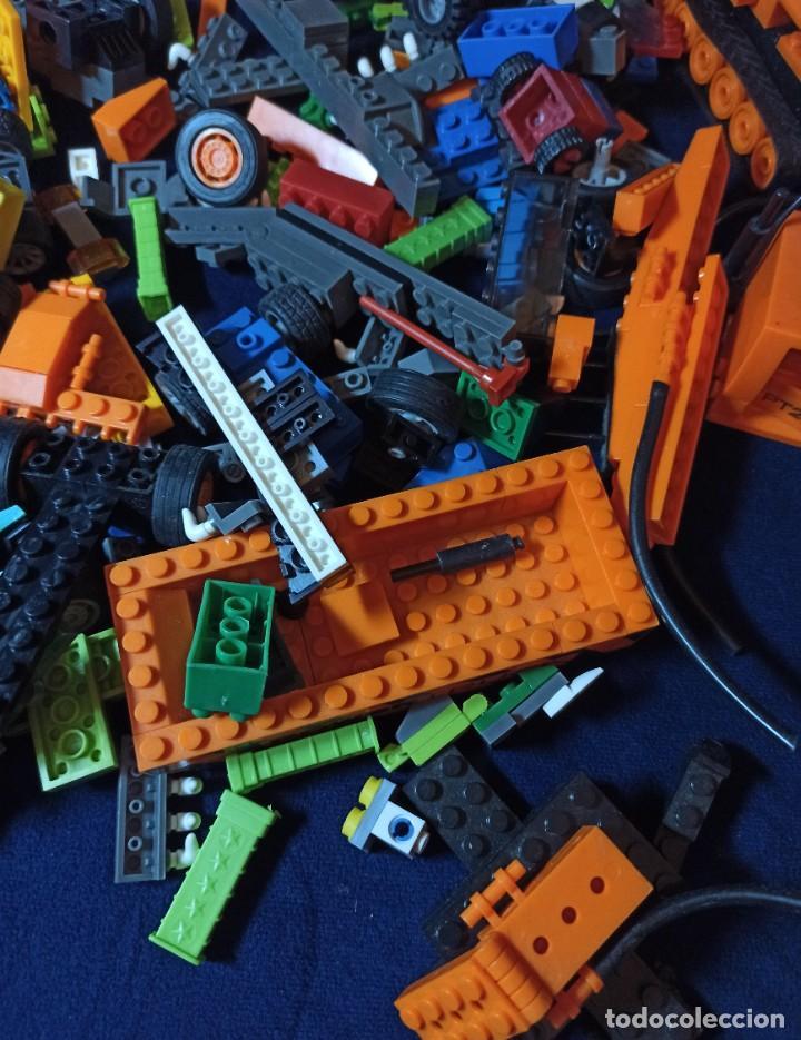 Juegos construcción - Lego: Lote de Piezas de construccion Mega Blocks y similar.804 gramos - Foto 3 - 261613035