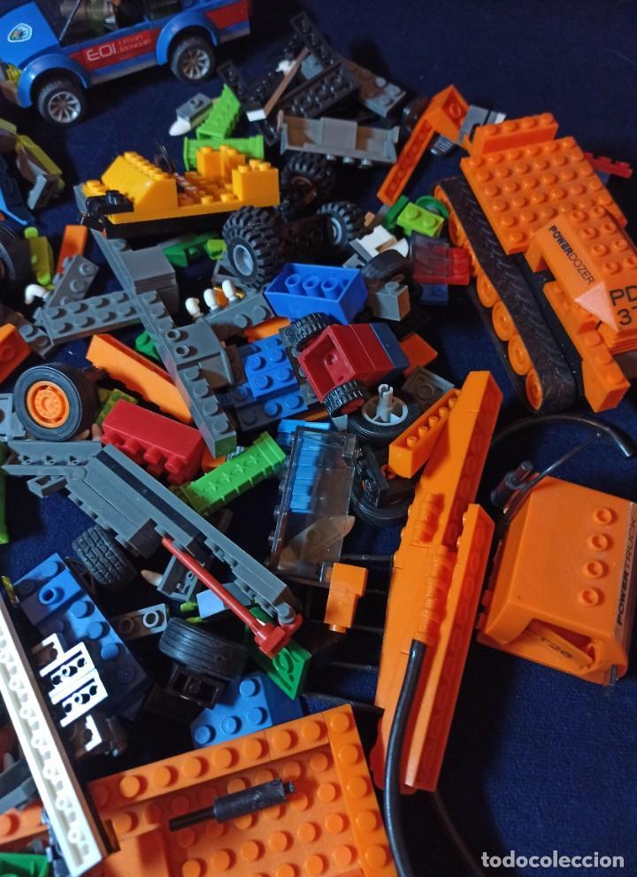 Juegos construcción - Lego: Lote de Piezas de construccion Mega Blocks y similar.804 gramos - Foto 4 - 261613035