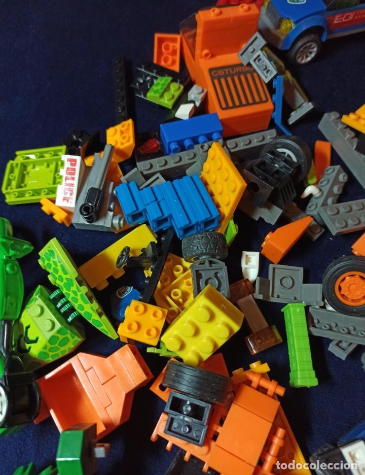 Juegos construcción - Lego: Lote de Piezas de construccion Mega Blocks y similar.804 gramos - Foto 6 - 261613035