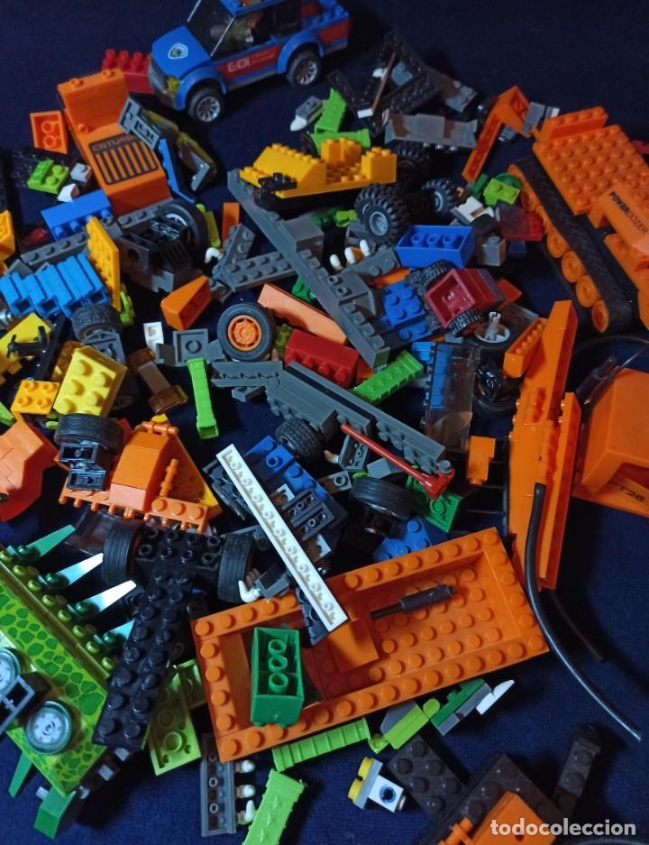 Juegos construcción - Lego: Lote de Piezas de construccion Mega Blocks y similar.804 gramos - Foto 7 - 261613035
