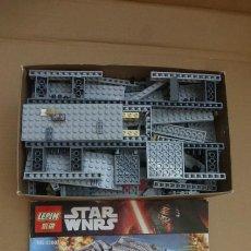 Juegos construcción - Lego: GRAN LOTE PIEZAS, HALCON MILENARIO, TIPO LEGO, PARA APROVECHAR. INCLUYE INSTRUCCIONES... Lote 261715695