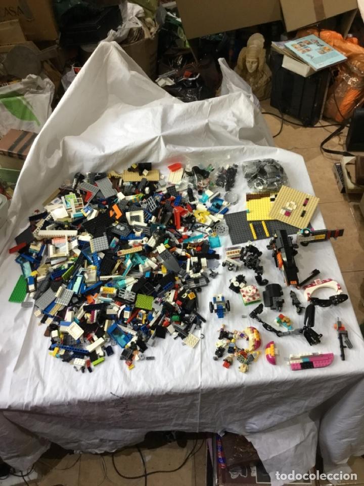 Juegos construcción - Lego: Lote 4.490 kg Lego piezas de construcción.figuras.ver fotos - Foto 3 - 261876165