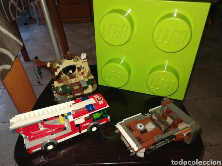LOTE LEGO CAJA INCLUIDA (Juguetes - Construcción - Lego)