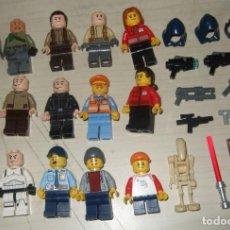 Juegos construcción - Lego: LOTE FIGURAS Y ARMAS LEGO ORIGINAL. Lote 262364470
