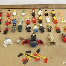 Juegos construcción - Lego: LOTE FIGURAS LEGO ORIGINAL. Lote 262724105