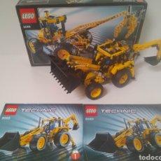 Juegos construcción - Lego: LEGO TECHNIC 8069 100% COMPLETO CAJA E INSTRUCCIONES RETROEXCAVADORA EXCAVADORA PALA BACKHOE LOADER. Lote 263217485