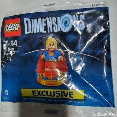 Juegos construcción - Lego: LEGO DIMENSIONS. SUPERGIRL. DIFÍCIL. SIN ABRIR. Lote 263636030