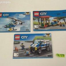 Juegos construcción - Lego: LOTE DE MANUALES LEGO. Lote 264102495