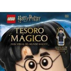 Juegos construcción - Lego: HARRY POTTER TESORO MAGICO LEGO MINIFIGURA DE TOM RIDDLE EXCLUSIVA NUEVO SIN ABRIR MAS ARTICULOS. Lote 264795959