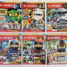 Juegos construcción - Lego: REVISTAS LEGO NINJAGO, BATMAN, CITY ETC.. Lote 265798189