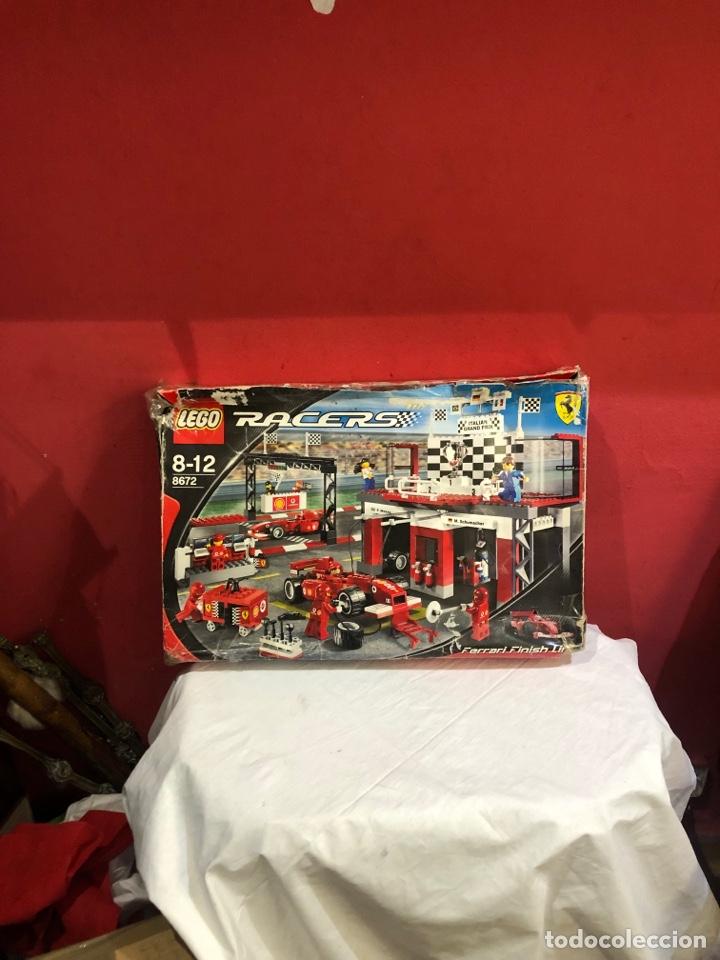 LEGO RACER 8672 . 8-12 FERRARI FINISH LINE. VER LAS FOTOS (Juguetes - Construcción - Lego)