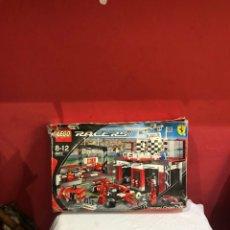 Juegos construcción - Lego: LEGO RACER 8672 . 8-12 FERRARI FINISH LINE. VER LAS FOTOS. Lote 266097078