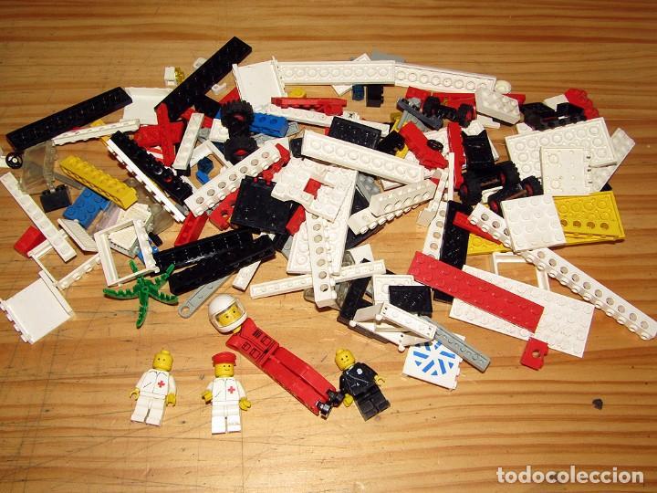 LEGO - LOTE DE ANTIGUAS PIEZAS (Juguetes - Construcción - Lego)