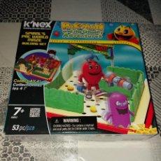 Juegos construcción - Lego: KNEX PACMAN PAC - MAN PAC WORLD MAZE GHOSTLY ADVENTURES K'NEX NAMCO AÑO 2012 PRECINTADO. Lote 267647384