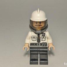 Giochi costruzione - Lego: SECURITY GUARD (FIRE HELMET) 70901 - LEGO SUPERHEROES: THE LEGO BATMAN MOVIE LEGO MINIFIGURE - SH320. Lote 268130399