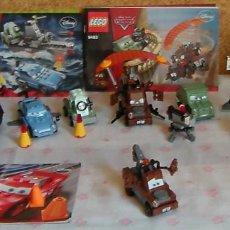 Juegos construcción - Lego: LEGO CARS LOTE 5 SETS MAC QUEEN VER FOTOS Y DETALLE. Lote 268307619