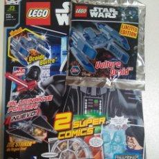 Juegos construcción - Lego: REVISTA LEGO STAR WARS WARS PRECINTADO COMIC GALÁCTICO 23 MAYO 2017 NAVE DROIDE BUITRE MINI. Lote 268859824