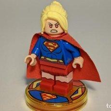 Juegos construcción - Lego: SUPERGIRL 71340 - LEGO DIMENSIONS LEGO MINIFIGURE - DIM040. Lote 268894474
