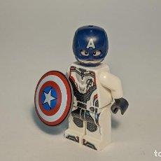 Juegos construcción - Lego: CAPTAIN AMERICA (ENDGAME) 76123 - LEGO MARVEL SUPERHEROES LEGO MINIFIGURE - SH560. Lote 268895229
