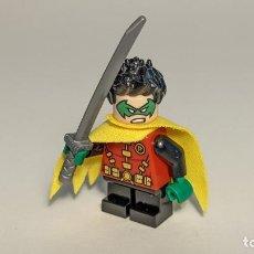Juegos construcción - Lego: ROBIN (GREEN MASK) 76118 - LEGO DC SUPERHEROES LEGO MINIFIGURE - SH588. Lote 268896149