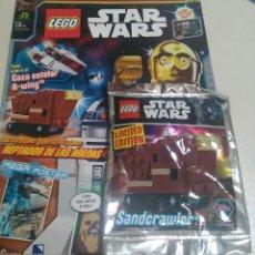 Juegos construcción - Lego: LEGO REVISTA NUEVA STAR WARS 25 JULIO 2017 SOBRE PRECINTADO NAVE LIMITADA SANDCRAWLER REPTADOR ARENA. Lote 268918444