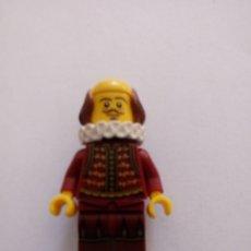 Jeux construction - Lego: FIGURA LEGO DE SAKESPEARE.. Lote 269008359