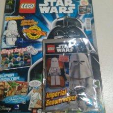 Juegos construcción - Lego: LEGO REVISTA NUEVA STAR WARS 26 AGOSTO 2017 SOBRE PRECINTADO SOLDADO NIEVE IMPERIAL FIGURA. Lote 269046593