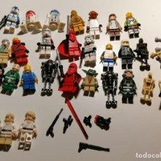 Jeux construction - Lego: CAJA LEGO CON CASI 5 KILOS DE PIEZAS Y FIGURAS STAR WARS Y MAS.. Lote 269047208