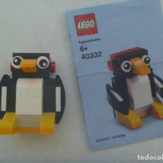 Juegos construcción - Lego: LEGO : FIGURA DE PINGÜINO . CON INSTRUCCIONES. Lote 269051788