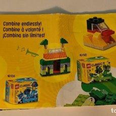 Juegos construcción - Lego: GREEN CREATIVITY BOX 10708 - LEGO CLASSIC LEGO SET. Lote 269111568