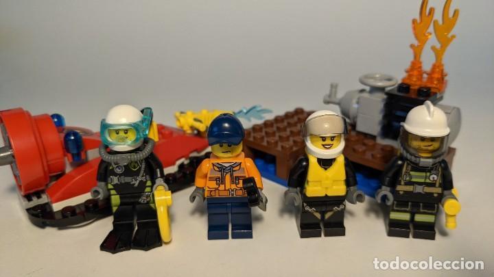 FIRE STARTER SET 60106 - LEGO CITY LEGO SET (Juguetes - Construcción - Lego)