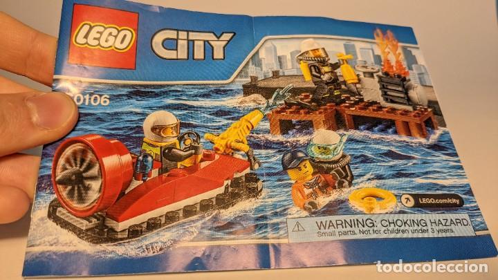 Juegos construcción - Lego: FIRE STARTER SET 60106 - LEGO CITY LEGO SET - Foto 7 - 269113478