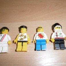 Juegos construcción - Lego: LOTE DE 4 FIGURAS DE LEGO. Lote 269118333