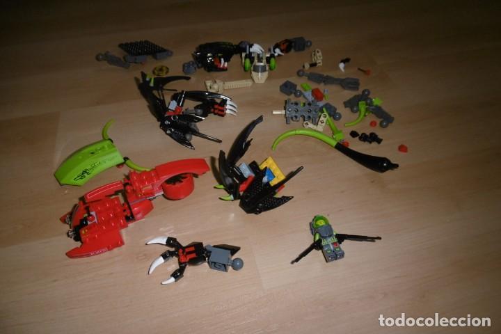 LOTE DE PIEZAS DE LEGO CON UNA FIGURA. FANTASIA. ESPACIO. (Juguetes - Construcción - Lego)