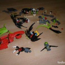 Juegos construcción - Lego: LOTE DE PIEZAS DE LEGO CON UNA FIGURA. FANTASIA. ESPACIO.. Lote 269118718