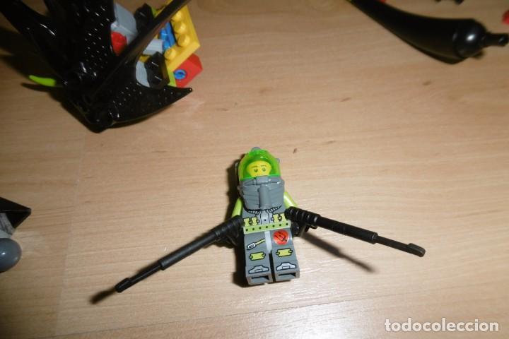 Juegos construcción - Lego: Lote de piezas de lego con una figura. Fantasia. Espacio. - Foto 2 - 269118718