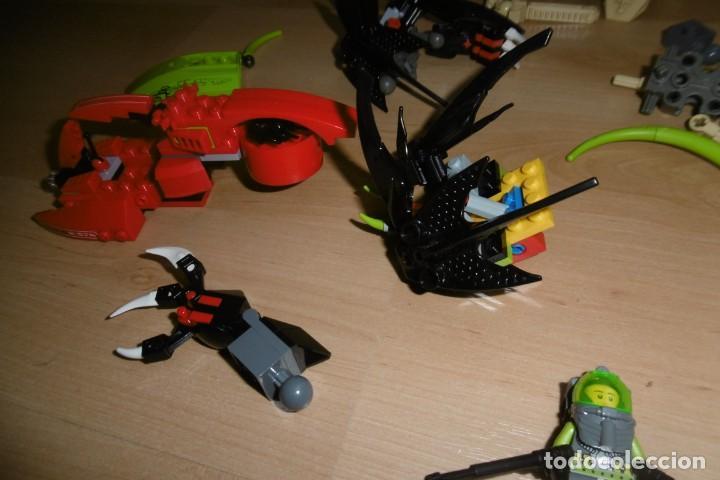 Juegos construcción - Lego: Lote de piezas de lego con una figura. Fantasia. Espacio. - Foto 3 - 269118718