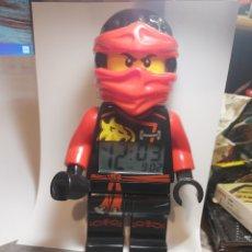 Juegos construcción - Lego: LEGO NINJACO RELOJ, 24 CM.. Lote 269172308