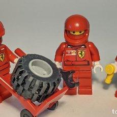 Juegos construcción - Lego: F1 FERRARI PIT CREW 8672 - LEGO RACERS LEGO MINIFIGURE - RAC025S. Lote 269268453