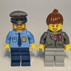 Juegos construcción - Lego: LOT POLICE AND WOMAN 3661 - LEGO CITY LEGO MINIFIGURE - LEGO LOT. Lote 269271123