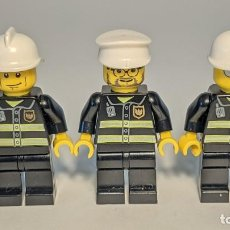 Juegos construcción - Lego: LOT OLD CITY FIREFIGHTERS - LEGO CITY LEGO MINIFIGURE - LEGO LOT. Lote 269271543