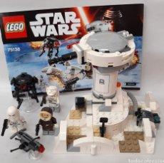 Juegos construcción - Lego: ATAQUE A HOTH STAR WARS LEGO ORIGINAL 75138. Lote 269282088