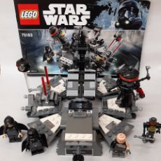 Juegos construcción - Lego: DARTH VADER TRANSFORMACIÓN STAR WARS LEGO ORIGINAL 75138. Lote 269289298