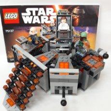 Juegos construcción - Lego: CÁMARA DE CONGELACIÓN STAR WARS LEGO ORIGINAL 75137. Lote 269293213